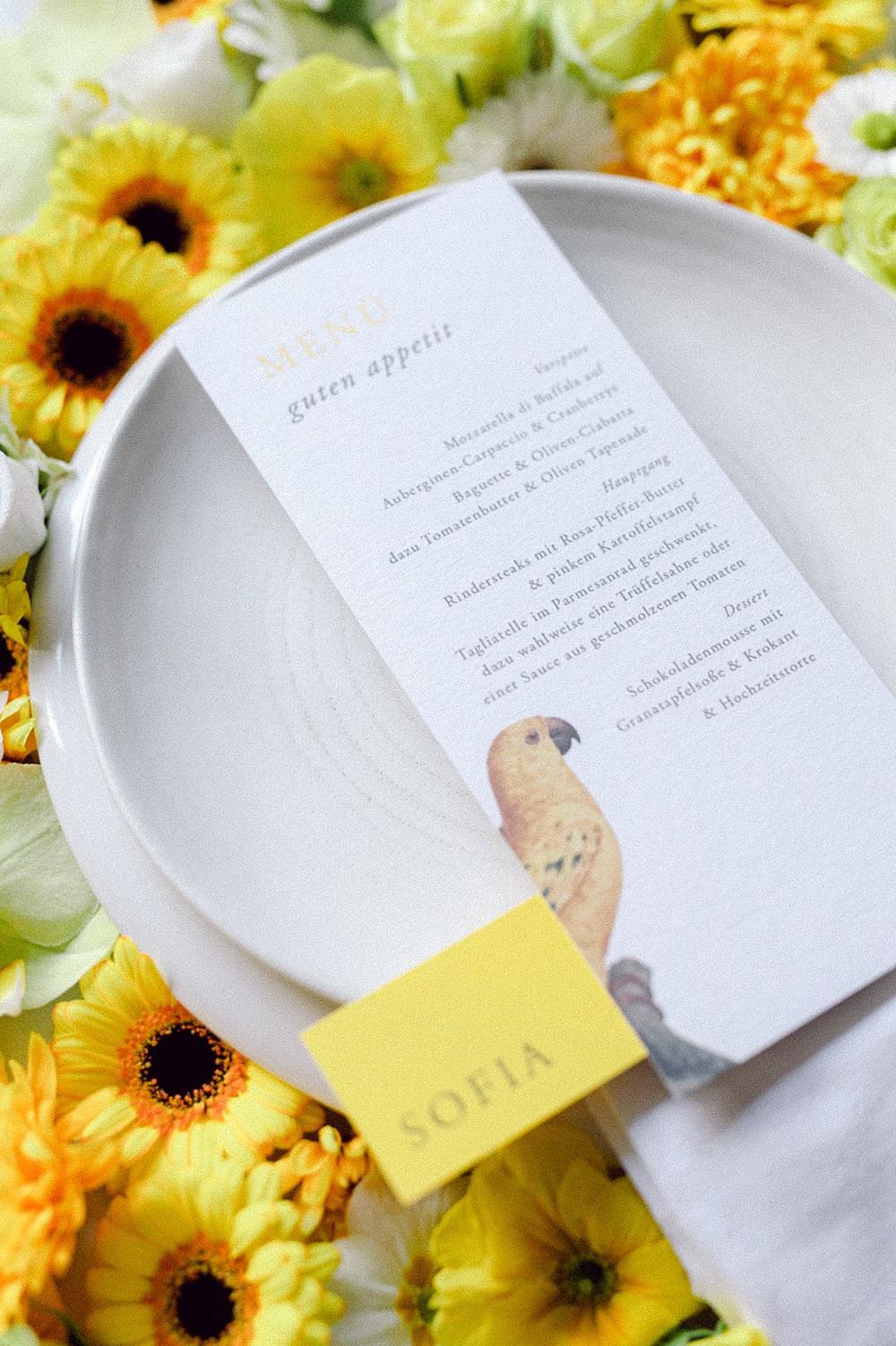 #supportyourlocal Hochzeitsdienstleister in NRW Forst Wedding Planner Tischdeko