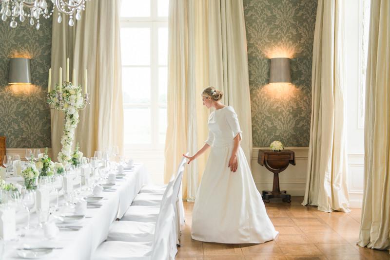 Braut im Schloss Gartrop