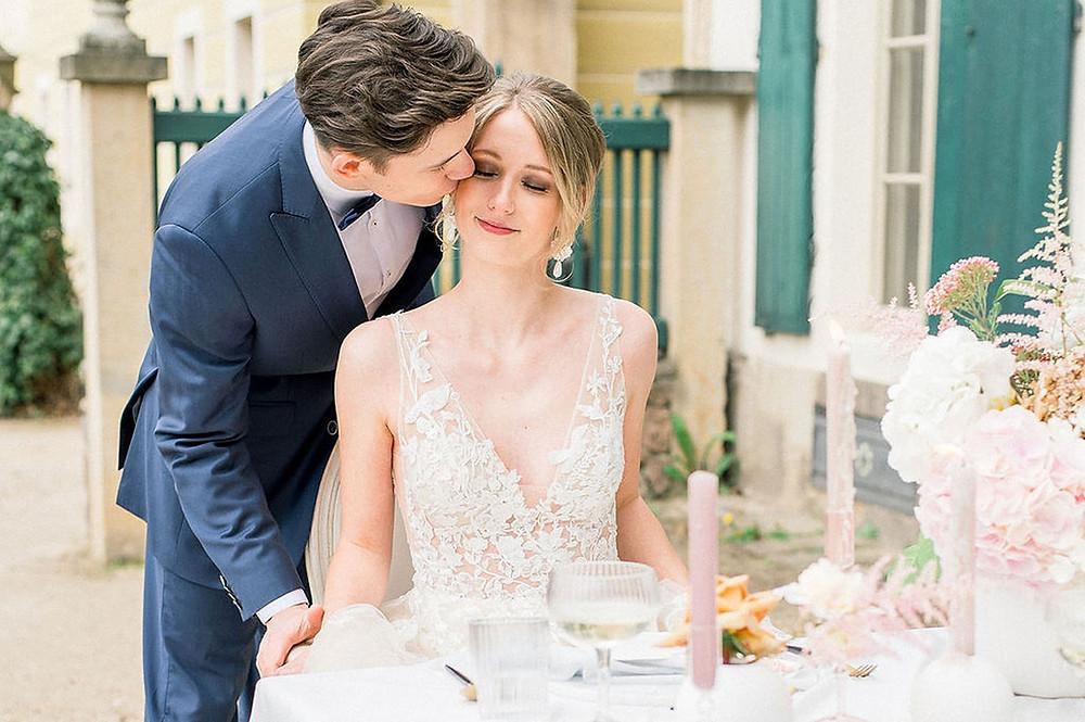 Hochzeitsinspiration - Micro Wedding mit französischem Flaire