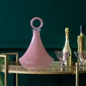 Art Deco Style Pink Bottle von Audenza