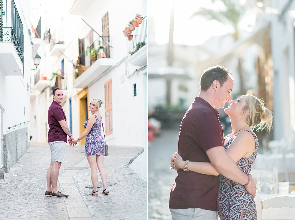 Ibiza Engagement shoot