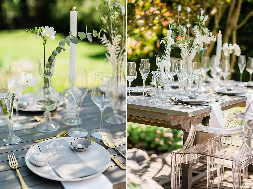 Tischdekoration by Elke Nehring - First Weddingplanner