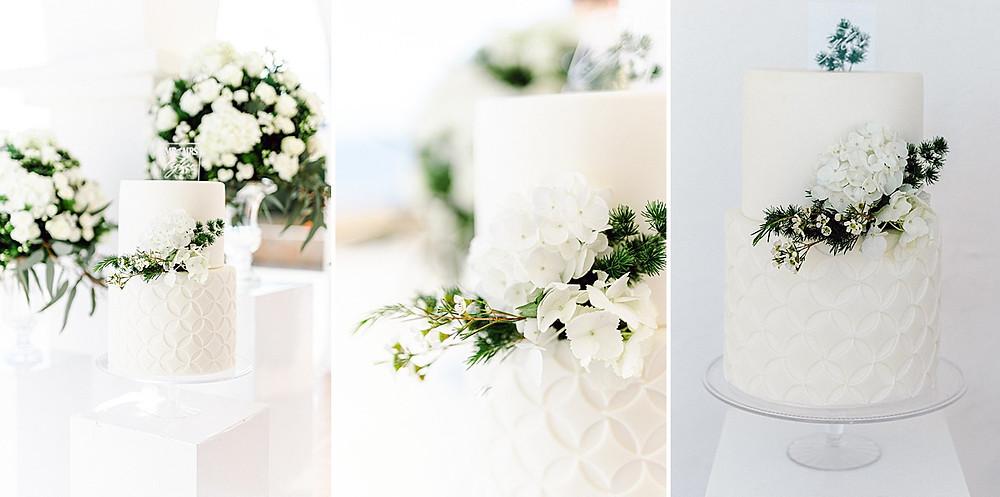 Weisse Hochzeitstorte von Sweet cake ibiza