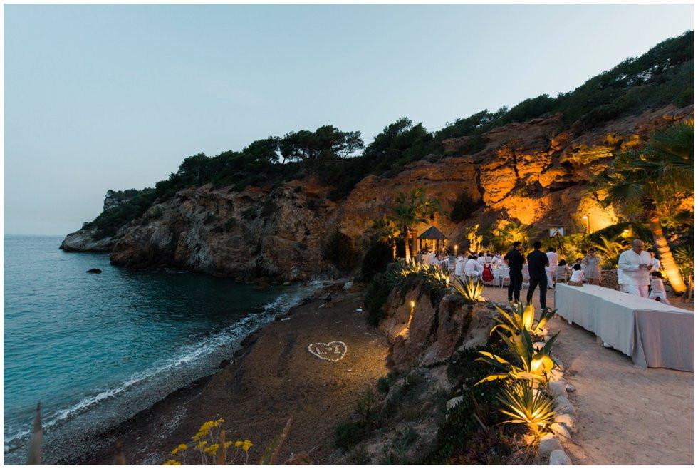 Amante Ibiza at night