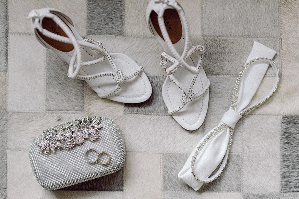 Braut Accessoires - Brautschuhe, brauttasche, Ringe