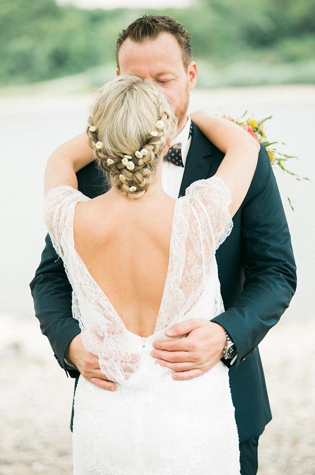 garden wedding daniela & christian