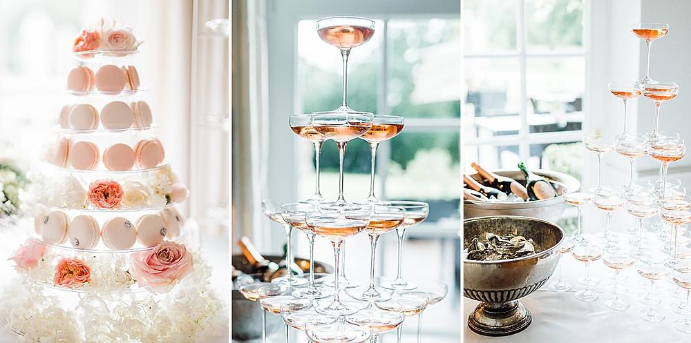 Luxury Wedding Ideas - Champagne Pyramid