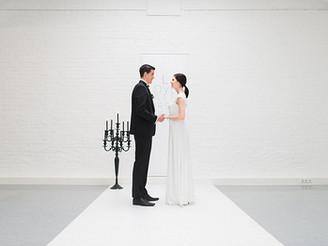 Urban Micro Wedding in a pure style