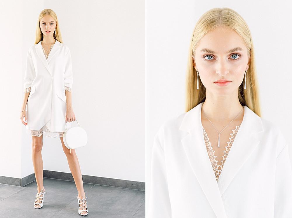 Kurzes Brautkleid Rime Arodaky for White wedding the magazine