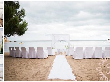 Relaxed, intimate wedding at Pura Vida Ibiza
