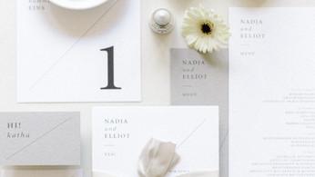 GEOMETRIC, COLORFUL, CLEAR! Die drei Hochzeitspapeterie Trends 2021 - inklusive FREEBIE