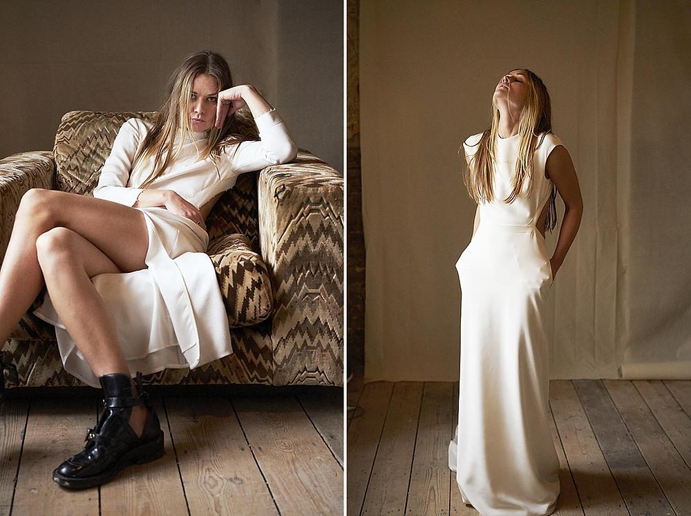 Brautmode des französischen Labels Bon Bride