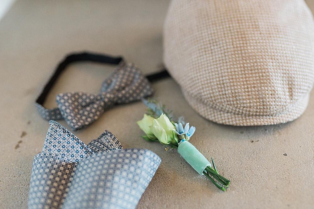 Hygge Hochzeitsideen in blau