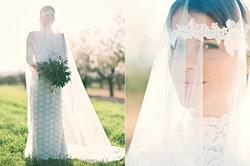 ibiza wedding - bridal portrait vail