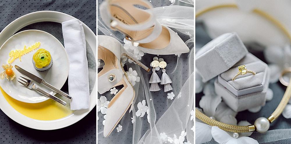 Fine Art Wedding in Gelb und Grau - Pantone Farben 2021