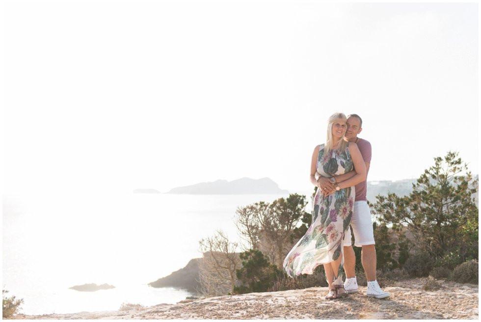 Engagementshoot on Ibiza
