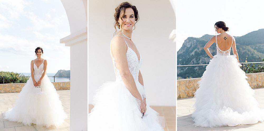 Brautkleid mit Tüllrock Rosa Clara