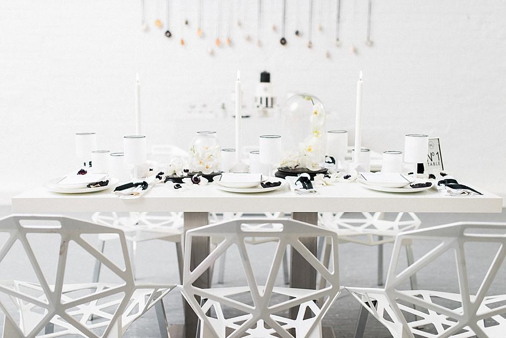 Micro Wedding Tisch für Coronahochzeit