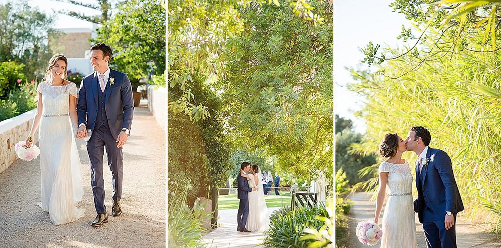 Hochzeitsfotos von Gypsy Westwood Ibiza