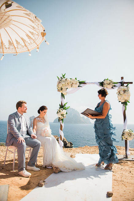 Ibiza Coast Wedding