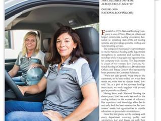 National Roofing Business Development Team: Super Women
