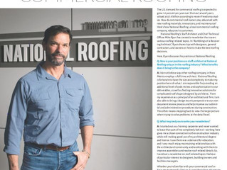 National Roofing Staff Architect Shares Insight on Commercial Roofing
