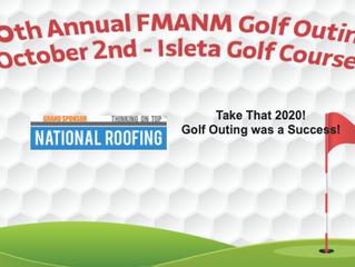 National Roofing Sponsors FMANM 2020 Golf Tournament