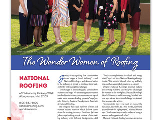Wonder Women of National Roofing