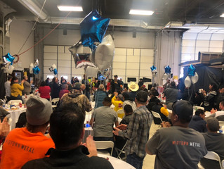 National Roofing celebrates 2019 with employee appreciation party