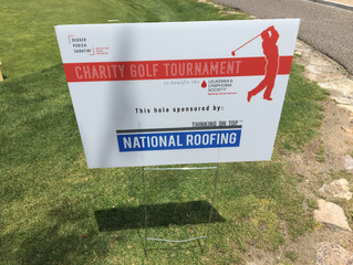 National Roofing Plays in DPS Charity Golf Tournament