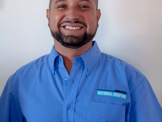 Juan Aguilar Joins National Roofing's Estimating Department