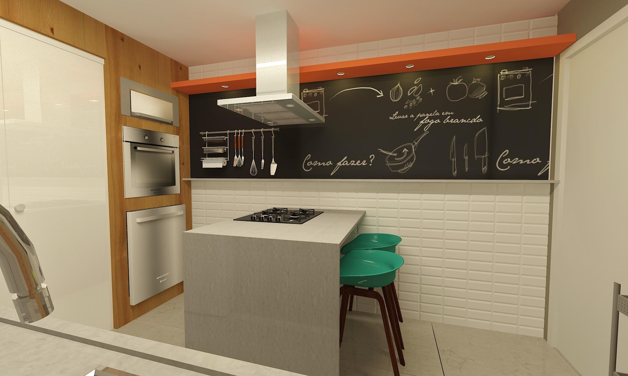 Render  Cozinha Lili - Proposta B- 02