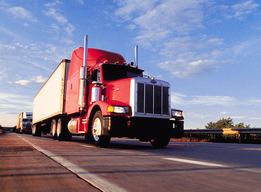 Holiday shipments might wear semi-truck drivers out