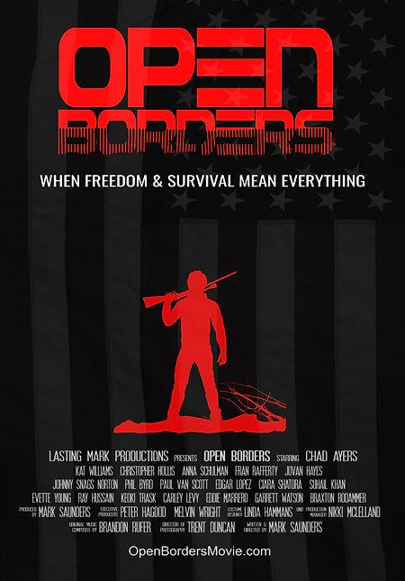 Open Border Poster Indie Film
