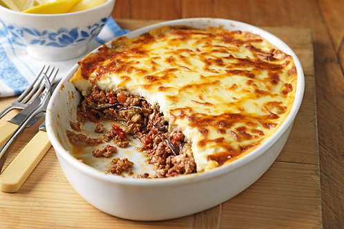 Mince Beef Moussaka
