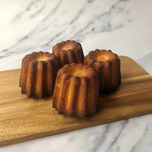 Box of 4 Cannelés