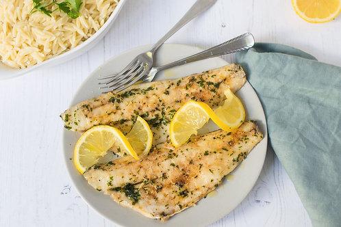 Roasted Sea Bass with lemon