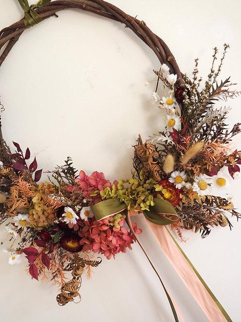 Festive Floral - Designer Dried Wreath