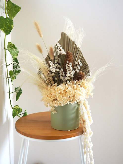 Sage Pot - Designer Dried Arrangement