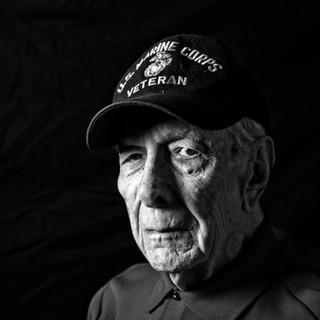World War II Veteran Headshot Photographer Darleen Prem