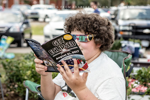 Woodstock Photographer at Eclipse