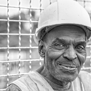 Construction Worker by Woodstock Headshot Photographer