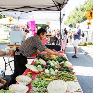 Woodstock GA Farmers Market by Darleen Prem