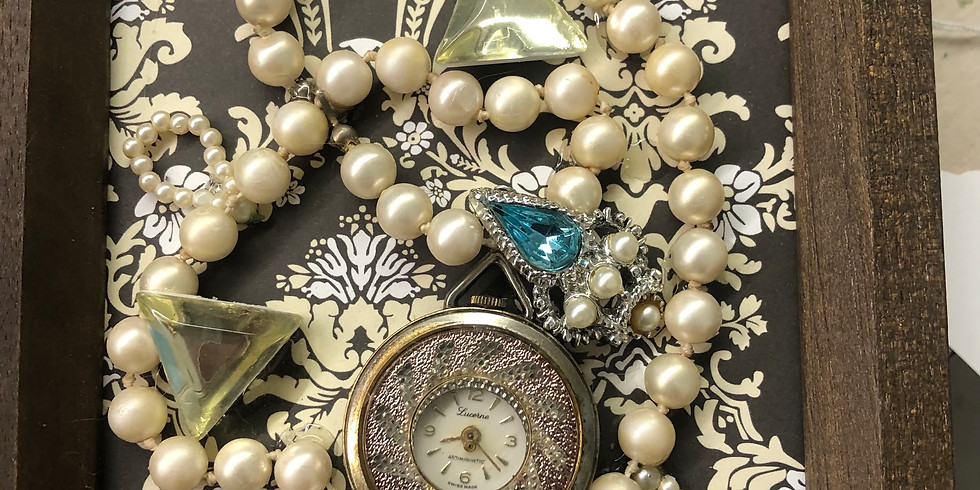 Jewelry Collage Class