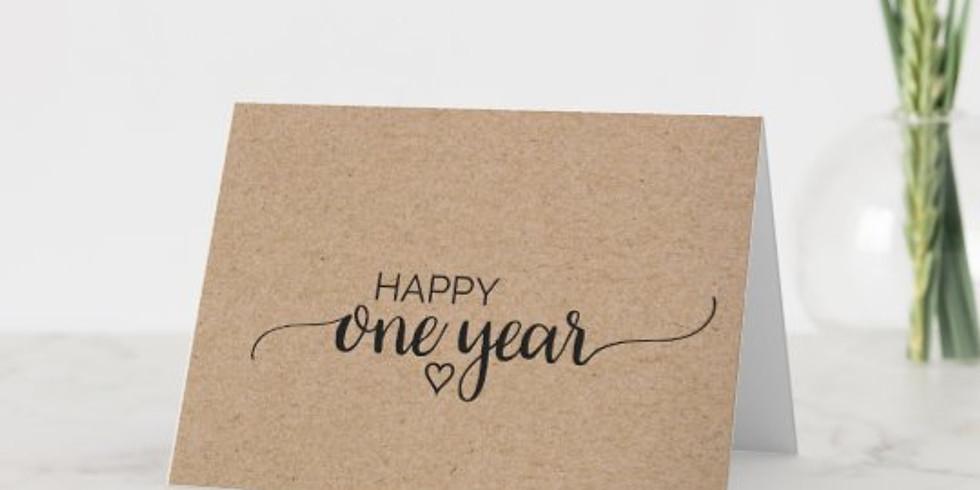 One Year Anniversary she-BANG!