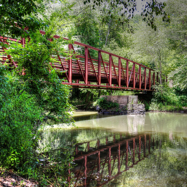 Rope Mill Bridge by Darleen Prem Photography