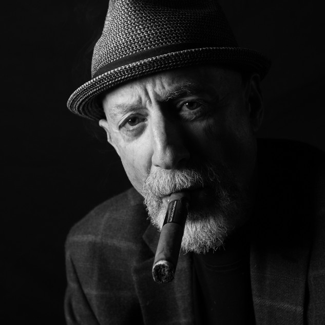 Cigar Portraits in Downtown Woodstock Photographer