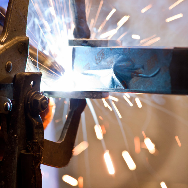 Commercial Photography of Welding