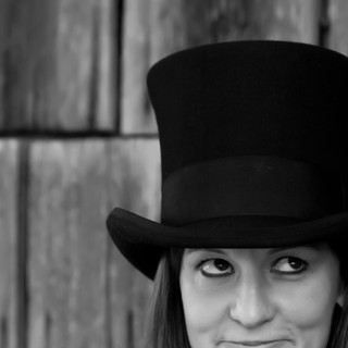Top hat portrait by Headshot Photographer Darleen Prem