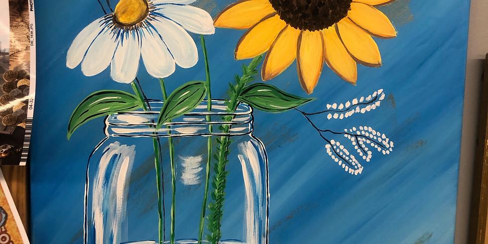 Painting Class: Sunflower